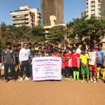 FC Leytonstone donating football kits to young people in Mumbai, India; through our partner Slum Soccer.